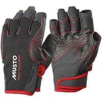 Musto Performance Short Finger Gloves BLACK AS0832 Sizes- - ExtraLarge