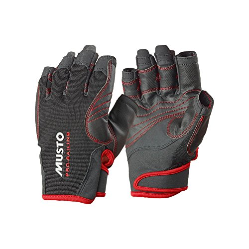 Musto Performance Short Finger Gloves BLACK AS0832 Sizes- - Small