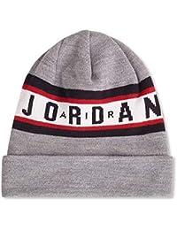 7be0ee87940 Jordan Beanie Air Cuffed Grey OSFA (One Size fits Any)