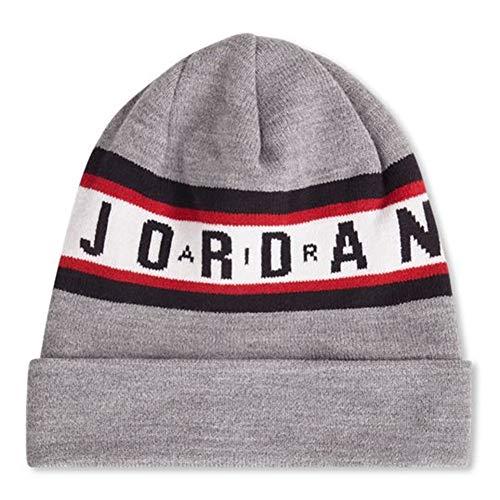 Imagen de jordan gorro beanie air cuffed gris osfa talla única para todos sexos
