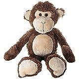 31cm Plüsch Affe Kuscheltier Stofftier Spielzeug Braun