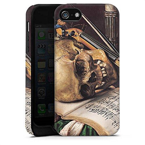 Apple iPhone X Silikon Hülle Case Schutzhülle Vanitas-Stillleben Kunst Art Tough Case matt