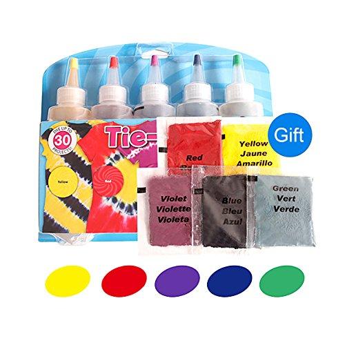 e Leinen Kleidung Farbstoffe 5Farbe 1Set color 4 ()