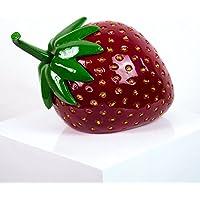 Deko Obst Apfel Bordeauxrot-D42xH46cm