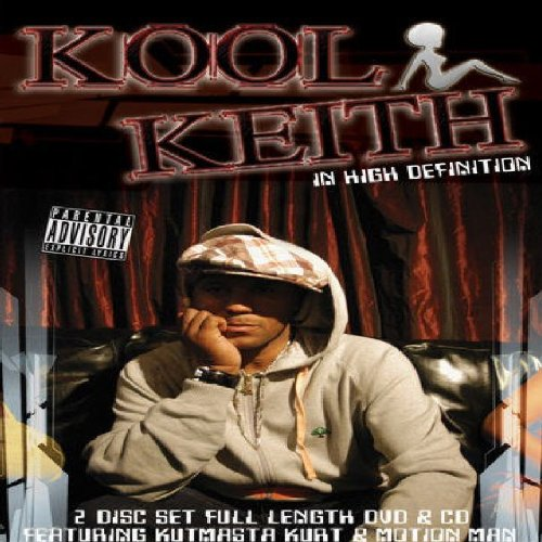 Kool Keith - In High Definition (+ CD) [2 DVDs]