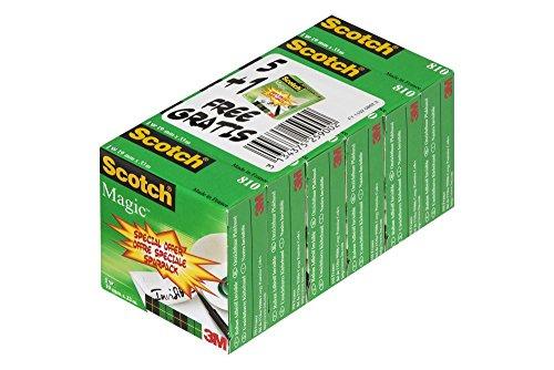 scotch-bp806-nastro-adesivo-810-confezione-da-6-dimensioni-19mm-x-33-metri