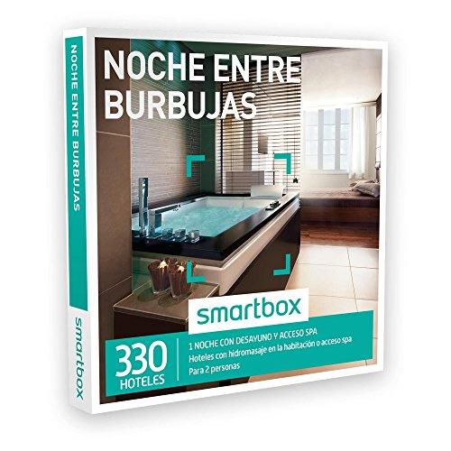 SMARTBOX – Caja Regalo – NOCHE ENTRE BURBUJAS – 330 hoteles con hidromasaje en la habitación o acceso spa