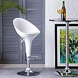 Home Centre Oslo Bar Chair - White