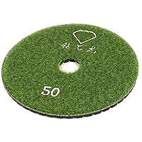 Sourcingmap - 4pollici granito lucidatura cemento resina diamante bagnato pad lucidare 50 grit