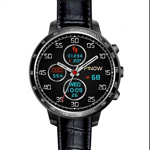 Bluetooth Smartwatch Armband sport Uhr Schrittzähler Kalorienzähler Metallgehäuse Schrittzähler Herzfrequenz-Messgerät Langlebig smart uhr Schrittzähler Sport Activity Fitness Tracker für IOS und Android