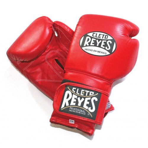 Cleto Reyes Velcro Sparring Gloves - Red 14oz