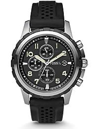 Fossil herren armbanduhr dress chronograph quarz fs4616