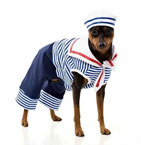 Horror-Shop Matrosen Hundekostüm Gr. M