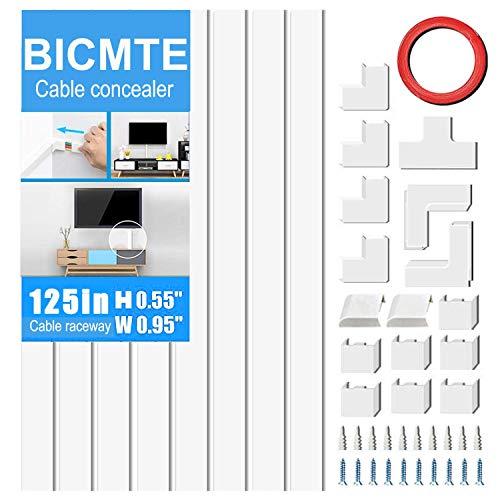 Concealer Management-Channel System mit Computer-Organisieren ausblenden Kabel für TV Wand befestigten