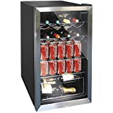 Husky Undercounter Wine Cooler Chiller Refrigerator with 91Ltr