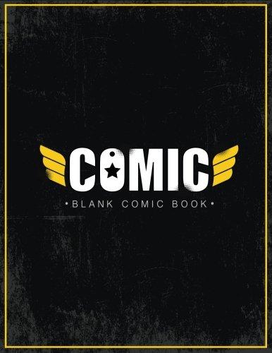 Blank Comic Book: Create Drawing  your own Anime & Cartoons / Comics Strip / Blank Comics Templates: Volume 2 (Comics - Manga books)