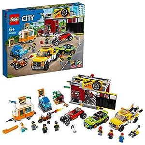 LEGO City Turbo Wheels - Autofficina Giocattolo, con una Roulotte e Veicoli, tra cui un Carro Attrezzi, un Bolide e una… 5702016617924 LEGO