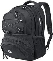 Travelite Handgepäck Rucksack für Reise, Freizeit und Sport, Gepäck Serie BASICS Daypack: Funktionaler Rucksac
