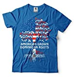 Silk Road Tees República Dominicana Hombres Camiseta de American Grown Roots República Dominicana...