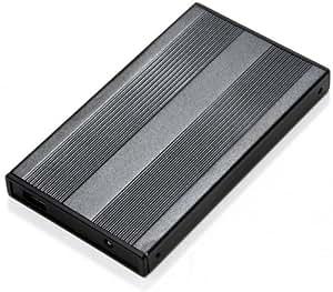 Scythe Kamazo 2 IDE Gehäuse für 6,4 cm (2,5 Zoll) Festplatte schwarz
