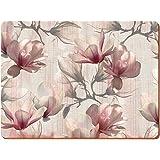 Creative Tops Magnolia Premium manteles individuales de corcho, madera, rosa, 6