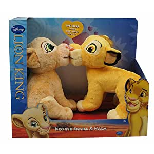 Disney Lion King Exclusive Plush Figure Kissing Simba