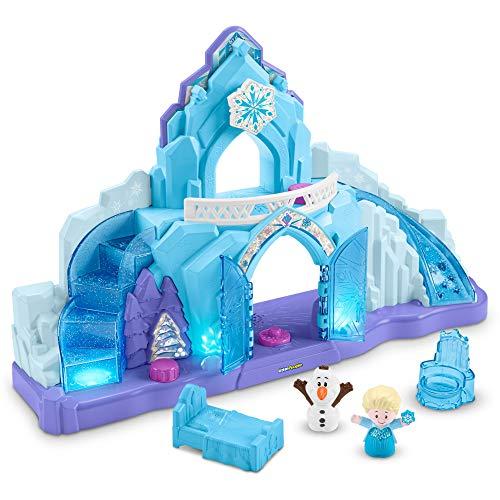 Fisher-Price GLM38 - Little People Frozen Elsas Eispalast, Deutsche Sprachversion (Frozen Kleinkind Spielzeug)
