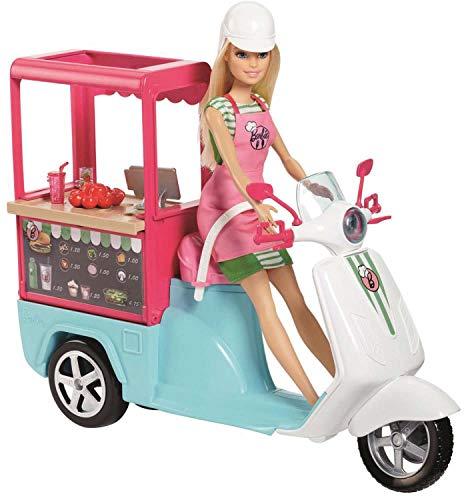 Barbie FHR08 Cooking & Baking Snack-Roller, Mehrfarbig (Barbie Kasse Spielzeug)