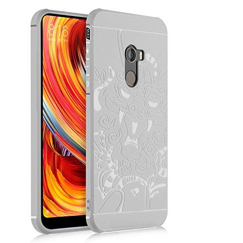 Casos Funda® Firmeza e Flexibilidade para Smartphone Xiaomi Mi MIX 2 (1)