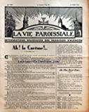 VIE PAROISSIALE (LA) [No 1062] du 09/03/1947 - LE CAREME PAR PIERRE L'HERMITE - AU CLAN SAINT-PAUL - CALENDRIER LITURGIQUE