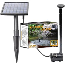 Linxor ® Solar water pump for fountains, basins or gardens… with a 5m cable- Standard CE