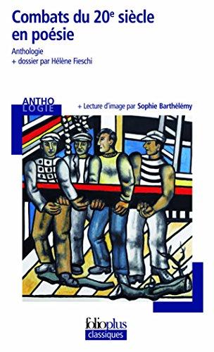 Combats du 20ᵉ siècle en poésie par Collectifs