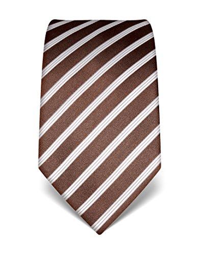 vincenzo-boretti-corbata-seda-marron-oscuro-blanco