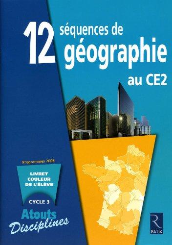 12 séquences de géographie au CE2 (Lot de 6)
