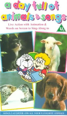 A Day Full Of Animals And Songs [VHS] for sale  Delivered anywhere in UK