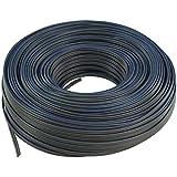 Valueline LSP-021R Câble Haut-parleur 2 x 1 mm 100 m Gris