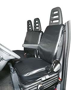 walser transporter sitzbezug schonbezug aus kunstleder f r einzelsitz und doppelbank amazon. Black Bedroom Furniture Sets. Home Design Ideas