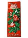 25 x Stanniol Lametta Silber, pro Pack ca. 40 Fäden 50cm, 15g