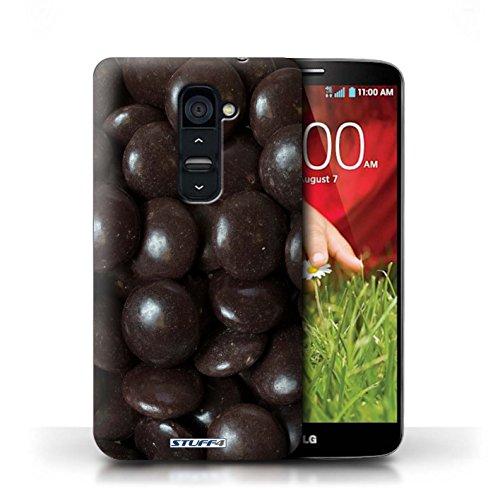 Kobalt® Imprimé Etui / Coque pour LG G2 / Smarties conception / Série Bonbons Minstrels