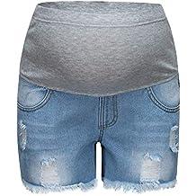 76a00bb45 LHWY Premamá Invierno Leggins Abrigos Embarazo Maternidad Pantalones  Pitillo Jeans sobre Los Pantalones EláSticos