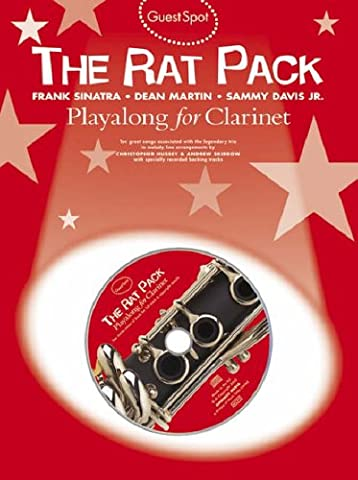 Guest Spot Rat Pack Playalong For Clarinet Clt Book/Cd
