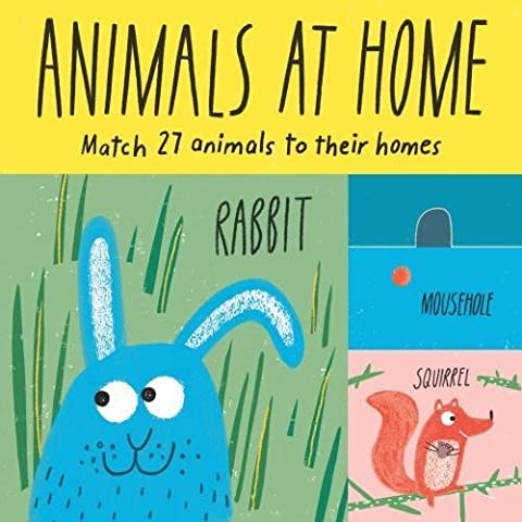 Animals at home : Match 27 animals to their homes