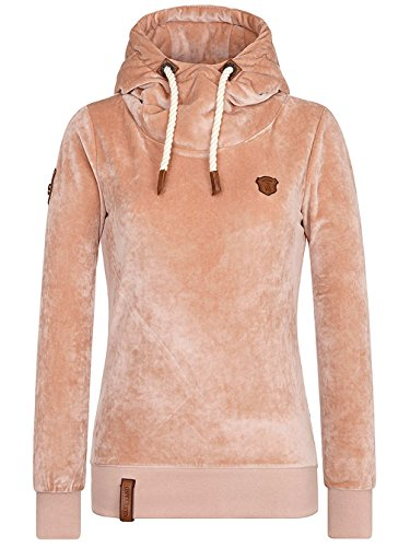 Naketano Female Hoody Schmierlappen Mack III Dusty Pink