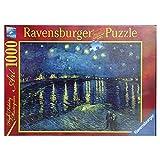 Ravensburger Italy Puzzle 1000 Pezzi Van Gogh: Notte ste, Multicolore, 4005556156146