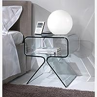 Amazon.it: comodini vetro - Camera da letto / Arredamento ...
