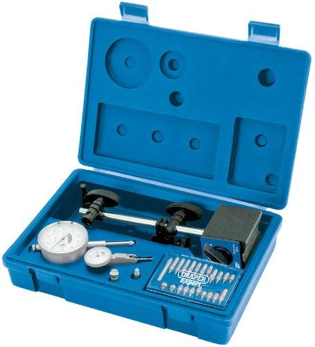 Blinkerbirne KIT metrisch EXPERT DIAL TEST - Profiqualität, ideal all-rund KIT für Techniker und Lehrlingen. Dial test 0,01 millimeter Blinker Genauigkeit. Verpackt im Aufbewahrungskoffer mit Displayhülle.