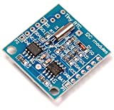 Robodo Electronics MO61 Real Time Clock DS1307 RTC I2C Module AT24C32 with CR2032 Coin Battery