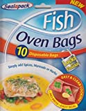 Sealapack - Fish Oven Bags - 20 Disposable Bags - No Mess Easy Seal