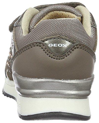 Geox Mädchen J Maisie Girl C Low-Top Beige (DK BEIGEC5005)