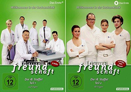 In aller Freundschaft - Staffel 18 Komplett (Teil 18.1+18.2) * DVD Set